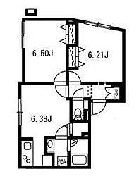 ブランシェ哲学堂公園[4階]の間取り