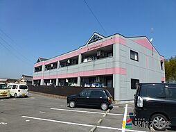 福岡県筑後市長浜の賃貸アパートの外観