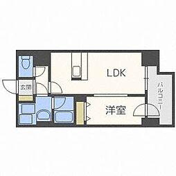 アルファタワー札幌南4条[9階]の間取り