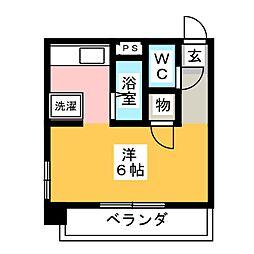 フォトリエモリ[4階]の間取り