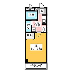 LAGUNA神の倉[1階]の間取り