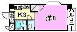 美沢寿ハイツ[301 号室号室]の間取り