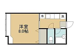 ヒロー21A[102号室]の間取り