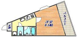 兵庫県神戸市灘区灘北通9丁目の賃貸マンションの間取り