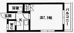 ウェールハウス[101号室]の間取り