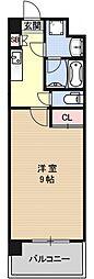 プラネシア星の子京都御所[405号室号室]の間取り