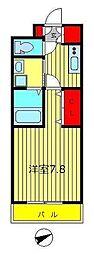 東京都葛飾区立石1丁目の賃貸マンションの間取り