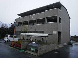 セジュール亀山 B棟[2階]の外観
