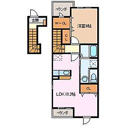 B.B Dream[2階]の間取り