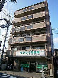 京都府京都市山科区安朱北屋敷町の賃貸マンションの外観