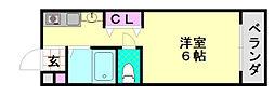 シティーハイツ正覚寺[305号室]の間取り
