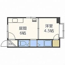 北海道札幌市南区澄川二条3丁目の賃貸アパートの間取り