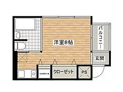 E−SITE[2階]の間取り