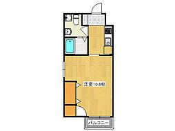 F maison CLAIR[3階]の間取り
