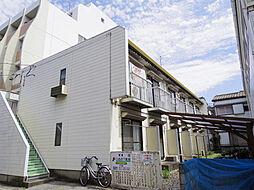 東京都江戸川区東葛西6の賃貸アパートの外観
