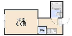 かわいビル[2階]の間取り
