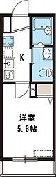 NKハウス[102号室号室]の間取り