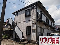 千葉県千葉市中央区道場北1丁目の賃貸アパートの外観