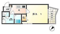 M'プラザ守口[2階]の間取り