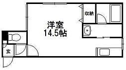 グランドサクセス澄川[203号室]の間取り