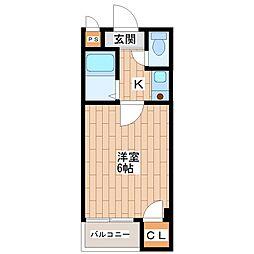 ツインコート平野II番館[5階]の間取り