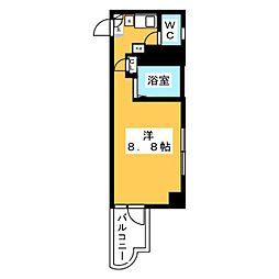 パンルネックスクリスタル博多III[5階]の間取り