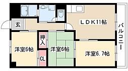 アチーブメント・S・T[2階]の間取り
