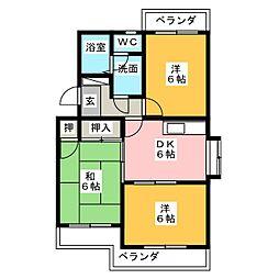 パークホームズ壱番館[2階]の間取り