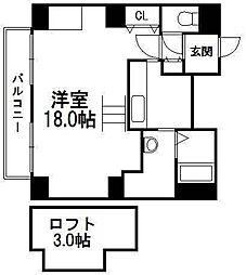 e−ハウス[1303号室]の間取り