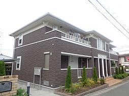 兵庫県三木市自由が丘本町3丁目の賃貸アパートの外観