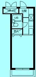 スカイコート宮崎台第3[4階]の間取り