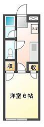 メゾン・スターダム[2階]の間取り