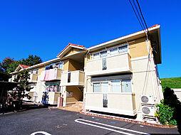 埼玉県志木市下宗岡3丁目の賃貸アパートの外観