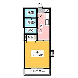 Pastel(パステル)[2階]の間取り