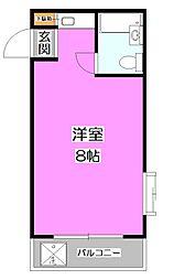 東京都練馬区高野台5丁目の賃貸マンションの間取り