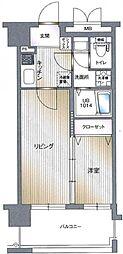 エンクレスト平尾II[604号室]の間取り