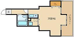ハイネス石川[2階]の間取り