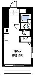 ヴァンハウス吉野町[10階]の間取り