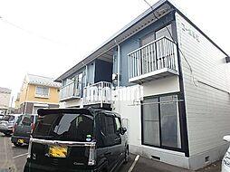 早坂コーポ[2階]の外観