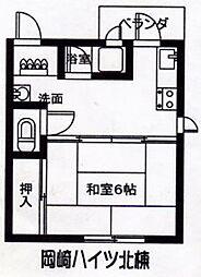 兵庫県尼崎市武庫之荘1丁目の賃貸マンションの間取り