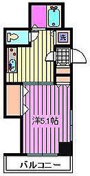 センチュリー南浦和[203号室]の間取り