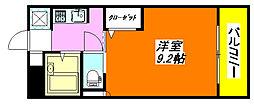 グランドール・永和 203号室[2階]の間取り
