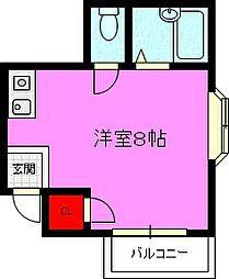 ファーストプラザ[3階]の間取り