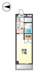CASA ナカシマ[2階]の間取り