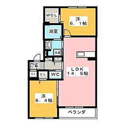 仮)シャーメゾン佐藤5丁目[2階]の間取り
