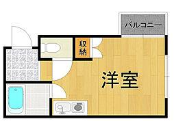 エール21[3階]の間取り