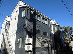 神奈川県横浜市港北区日吉6の賃貸アパートの外観