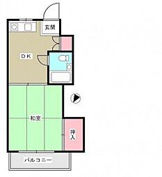 リザハウス西広島[5階]の間取り
