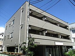 東京都日野市旭が丘2丁目の賃貸マンションの外観