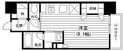KDX堺筋本町レジデンス[613号室号室]の間取り